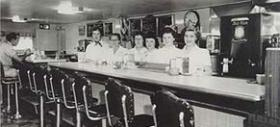 Waitstaff - Late 1950s