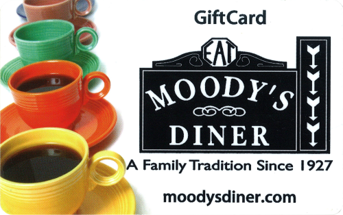 Moody's Gift Card